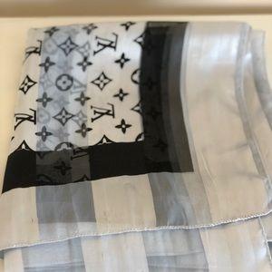Louis Vuitton Vintage Silk Scarf
